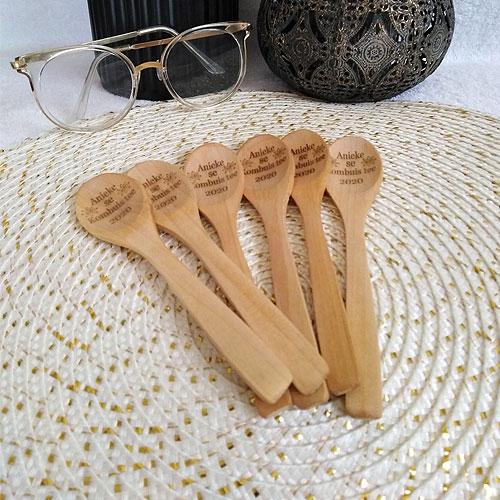 Personalised Wooden Teaspoon