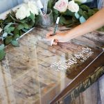 Perspex Guest Signing Board