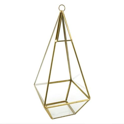Pyramid Geometric Vase