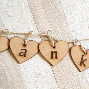 Small Thank You Bunting