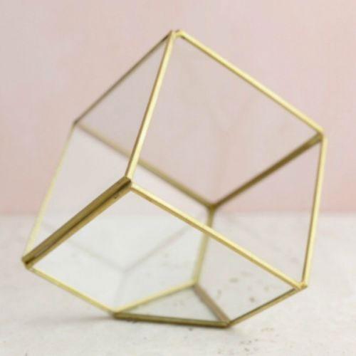 Square Geometric Vase