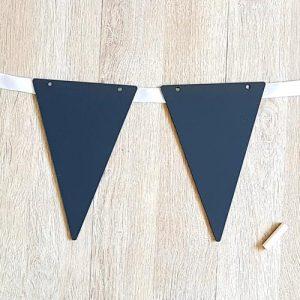 Chalkboard Flag Bunting