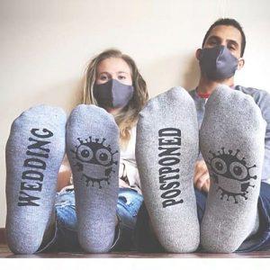 Wedding Postponed Socks