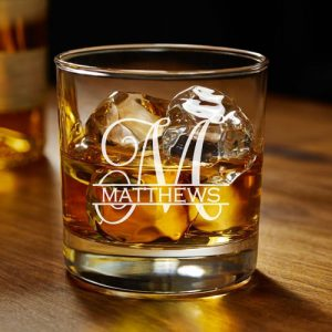 Personalised Whisky Glass