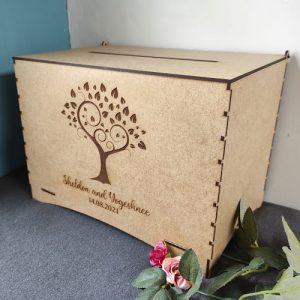 Custom Wooden Envelope Box