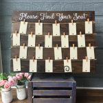 Wooden Seating Plan