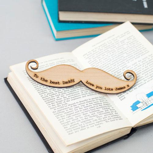 Custom Wooden Bookmark