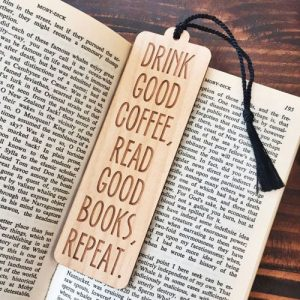 Custom Wooden Bookmark