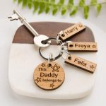 Personalised Friendship Keyring