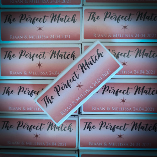 Personalised matches