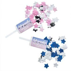 Gender Reveal Confetti Push-Pops