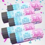Gender Reveal Confetti Popper Pack
