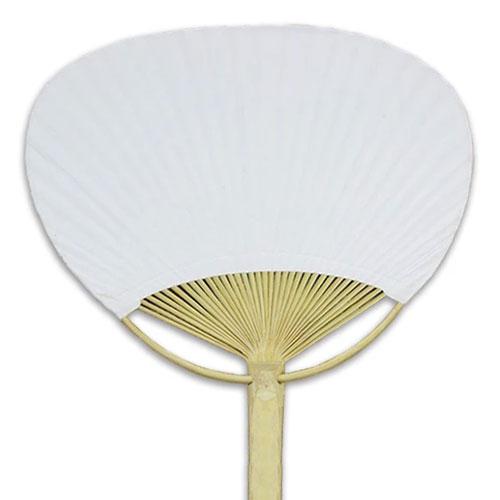 White Paddle Fan