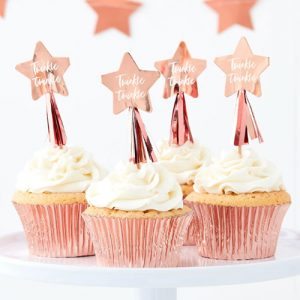 Twinkle Star Cupcake Toppers