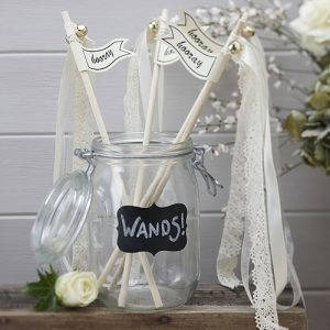Vintage Wedding Wands