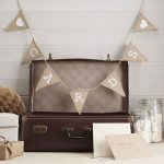 Vintage Cards Hessian Bunting