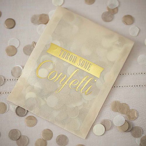 Confetti Envelopes (Wedding Confetti)