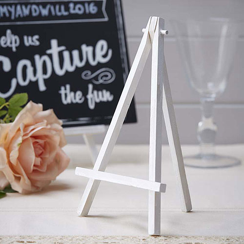 White Mini Easels