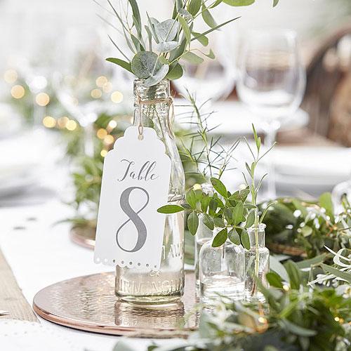 Botanics Table Number