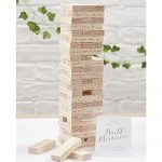 Jenga Memories Guest Book