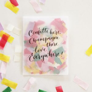 Tissue Confetti with Envelope