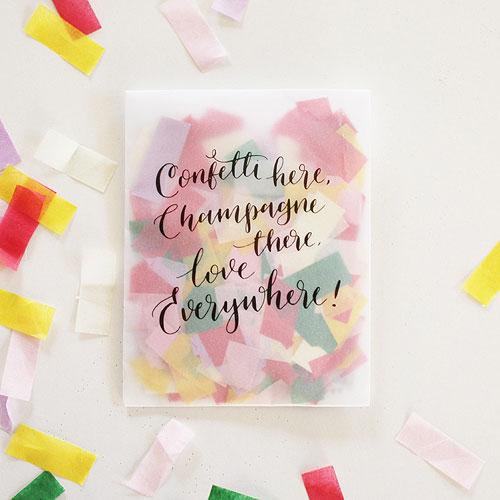 Tissue Confetti with Envelope