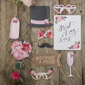 Boho Photo Booth Props