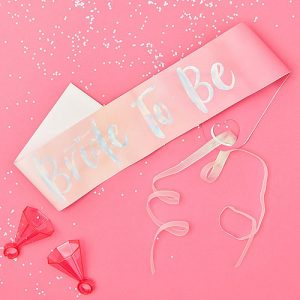Bride To Be Hen Party Sash