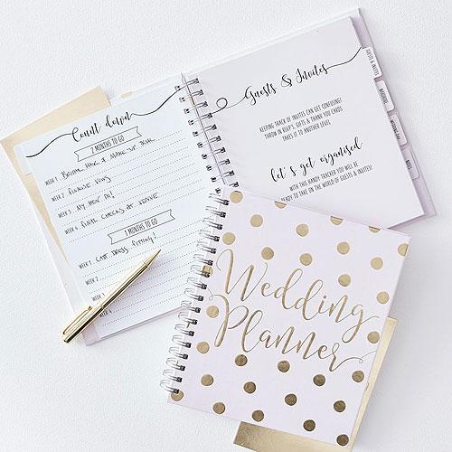 Luxury Gold Wedding Planner