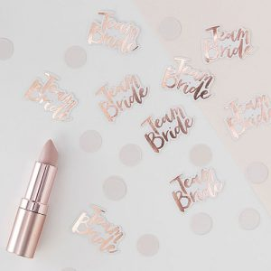 Team Bride Confetti