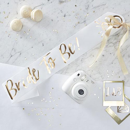 I Do Bride to Be Sash