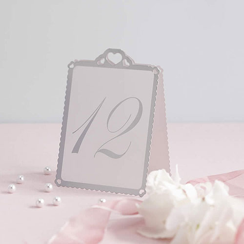 Love Struck Table Numbers