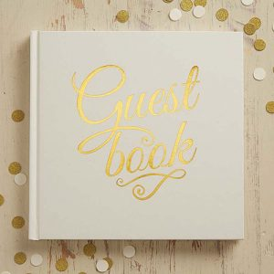 Metallic Perfection Guest Book