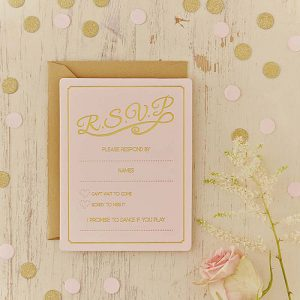 Pastel Perfection RSVP Cards