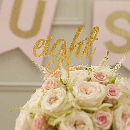 Pastel Perfection Table Numbers