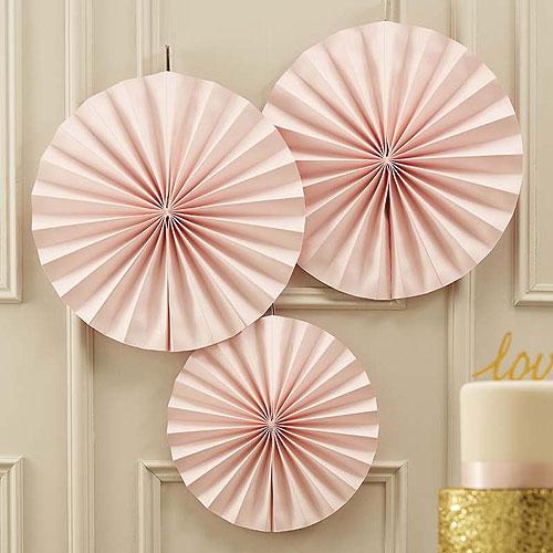 Circle Fan Decorations