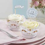 Vintage Lace Cupcake Wraps