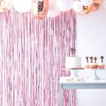 Pink Curtain Backdrop