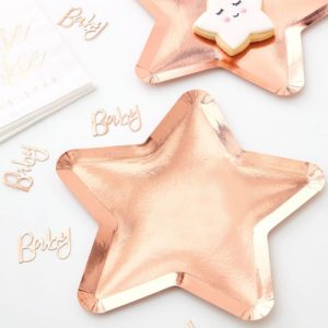 Star Shaped Paper Plates