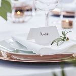 White Cotton Paper Place Cards