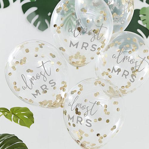 Almost Mrs Confetti Balloons