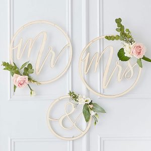 Mr and Mrs Hop Decoration