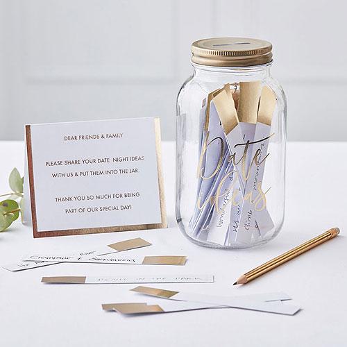 Date Jar Guest Book