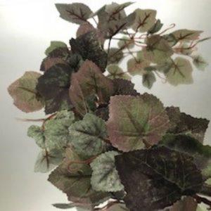 Autumn Grape Leaf Garland
