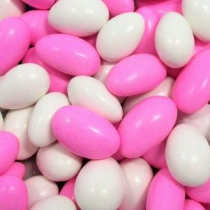 Pink and White Almonds