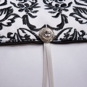 Classic Damask Ring Pillow