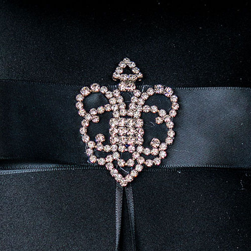 Crowned Jewel Ring Pillow
