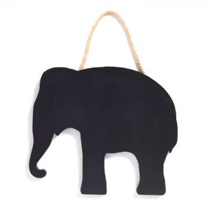 Elephant Shaped Chalkboard