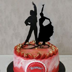 Dancing Couple Cake Topper