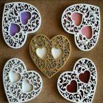 Ornate Heart Ring Holder